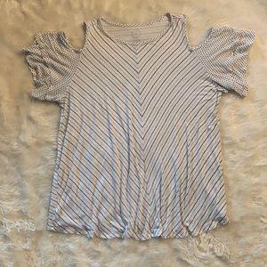 Maurice's 24/7 Cold Shoulder T shirt